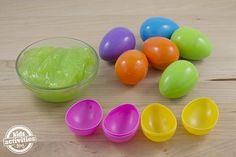 What's better than an Easter egg filled with candy? Kids will love the oozy, gooey, slimy fun of Gak Filled Easter Eggs! Easter Activities For Preschool, Egg Alternatives, Plastic Eggs, Free Candy, Spring Crafts, Easter Crafts, Easter Eggs, Play, Fun
