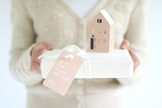 HEIM - tiny paper house - gift decoration