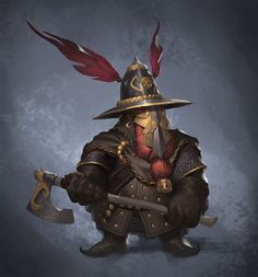 Grimmir by Prospass on DeviantArt Fantasy Character Design, Character Concept, Character Art, Concept Art, Dungeons And Dragons Characters, Dnd Characters, Fantasy Characters, Fantasy Dwarf, Medieval Fantasy
