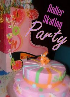 A Roller Skating Party in Bella Vista... Ally's 8th. Yes, I am going to skate !  Welllll, maybe lol