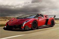 Lamborghini Veneno Roadster... meet super expensive monster..