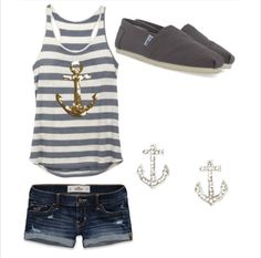 Anchor outfit! Made by me!