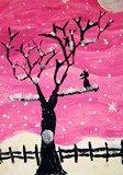 Tints of Winter Paintings-Art Club