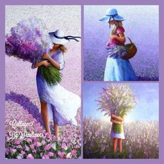 Collage by Paoline Sea Pictures, Collages, Purple Flowers, Mood Boards, Good Morning, Palette, Sketch, Creative, Mani