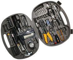 Syba 145-Pieces Universal Computer Laptop PC Tech Repair Crimping Tool Kit Case #Syba