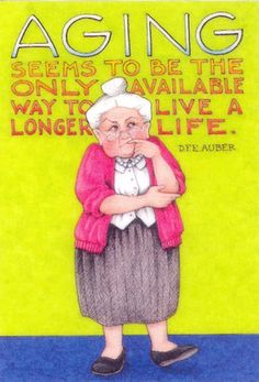 Aging seems to be the only available way to live a longer life. #aging