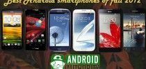 Best Android smartphones of fall 2012
