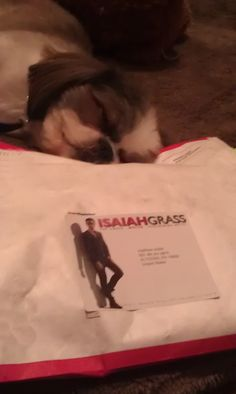 Have you gotten your Isaiah Grass package yet sent to you? IZ is helping :)