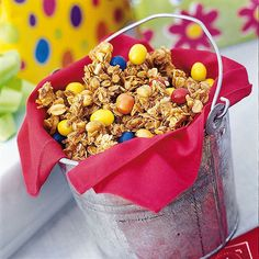 Bake a Batch of Chicken-Feed Granola for kids!