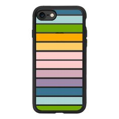 Candy Stripes 2 - iPhone 7 Case And Cover ($40) ❤ liked on Polyvore featuring accessories, tech accessories, iphone case, clear iphone case, apple iphone case, iphone cover case and iphone cases