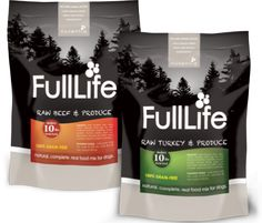 FullLife™ Grain-Free Dog Food is a freeze-dried USDA meat and fresh produce food that provides naturally-occurring vitamins and enzymes for a complete and healthy diet for dogs.