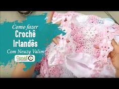 Crochê Irlandês - Parte 07 - Acabamento e Disposição de Motivos - YouTube