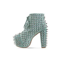Jeffrey Campbell Lita Spike 2 found on Polyvore
