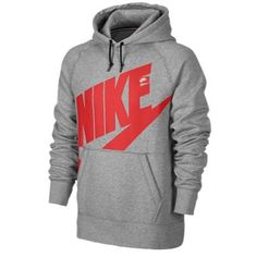 Nike Ace PO Hoodie Exploded Pop Logo - Men's #Eastbay