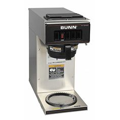 BUNN 133000001 VP171SS Pourover Coffee Brewer with 1 Warmer Stainless Steel -- Details can be found by clicking on the image.