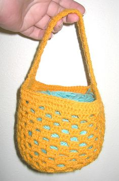 Ravelry: Crocheted Wrist Yarn Holder pattern by Tandy Imhoff