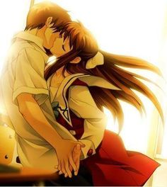 Fruits Basket, Kyo and Tohru! I love this pairing too Kyo being so angry all the time and then him softening up around Tohru :) so cute Anime Love, Manga Love, Awesome Anime, Manga Girl, Anime Girls, Manga Anime, Anime Ai, Kawaii Anime, Anime Nerd