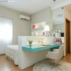 Amazing Teen Girl Bedroom Decor Ideas - Home and Garden Decoration Bedroom Decor For Teen Girls, Teen Girl Bedrooms, Childrens Bedroom, Modern Teen Bedrooms, Master Bedrooms, Bedroom Modern, Girl Rooms, Awesome Bedrooms, Beautiful Bedrooms