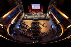 Topping-out ceremony Musiktheater Linz // Lighting Technology // (c) Volker Weihbold Music Theater, Stage Lighting, New Music, Technology, Pictures, Linz, Culture, Musik, Tech