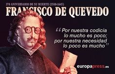 370 años de la muerte de Francisco de Quevedo: 20 de sus frases memorables