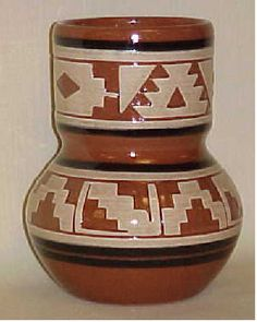 sioux pottery spirit vase