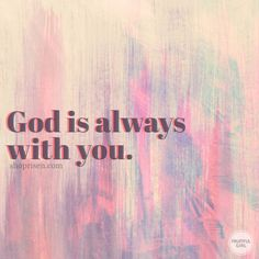 And surely I am with you always, to the very end of the age. Bible Verses Quotes, Faith Quotes, Spiritual Quotes, Positive Quotes, Praise God, Quotes About God, Faith In God, True Words, Trust God
