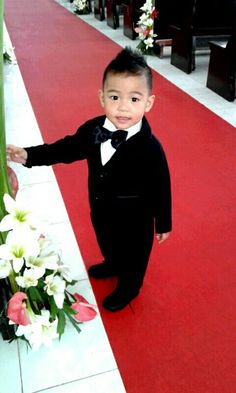 Our lil man..So adorable!! 2years old Messi..