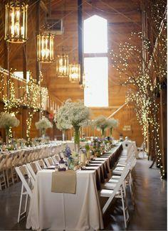 STUNNING barn wedding!