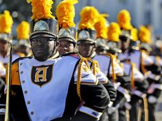 The Alabama State University's Mighty Marching Hornets Band