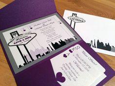 Elegant Las Vegas Themed Wedding by KreativWorksbyKim on Etsy
