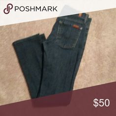 7 For All Mankind Straightleg jeans Size 24, worn but great condition. 7 For All Mankind Jeans Straight Leg
