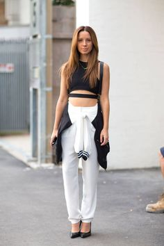 Some chic outfit inspiration from Down Under.