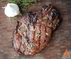 Rib-eye Steaks on the Big Green Egg | Girls Can Grill