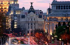 Madrid, Spain -- looking forward to our trip.