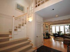 love the stair rails
