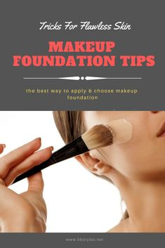 Makeup Makeup Foundation Tips and Tricks For Flawless Skin Wedding Photographer Article Body: Hiring How To Choose Foundation, Spray Foundation, Foundation Tips, Natural Foundation, Flawless Foundation, Makeup Foundation, Tips And Tricks, Eye Candy Makeup, Flawless Skin Makeup