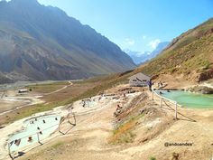 Journey to the and Andes Hot Springs, Cajon del Maipo, Santiago Chile | AndoAndes Travel & Nature Experience