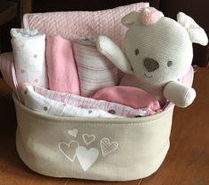Roxie Rabbit Baby Gift Basket