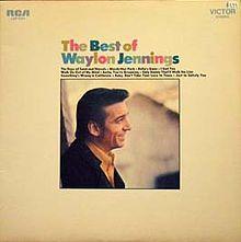 The Best of Waylon Jennings - GREAT color alternating type
