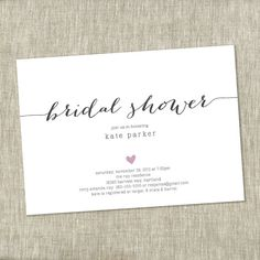 19 Best Bridal Shower Invitations Images In 2018