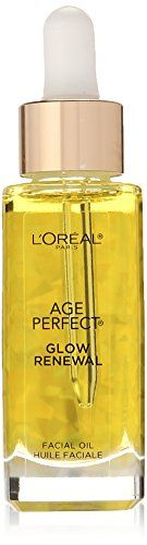 LOreal Paris Age Perfect Glow Renewal Facial Oil 10 Fluid Ounce ** Visit the image link more details. (Note:Amazon affiliate link)