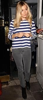 Easy ways to wear jeans - see examples from celebs like Sienna Miller