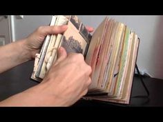 Altered Book Junk Journal - YouTube