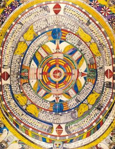 Adolf Wölfli, in RV 18 http://rawvision.com/articles/adolf-wolfli-archives  and RV 75 http://rawvision.com/articles/wolflis-sound-pieces
