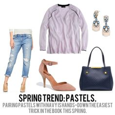 jillgg's good life (for less) | a style blog: spring trends 2014: pastels!