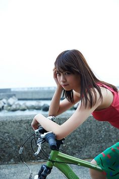 Nanase Nishino pictures and photos Pretty Girls, Cute Girls, Freckles Girl, Cycling Girls, Thing 1, Bicycle Girl, Body Poses, Cute Beauty, Cute Faces