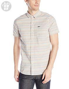 Volcom Men's Ledfield Short Sleeve Shirt, Melon, Small (*Amazon Partner-Link)