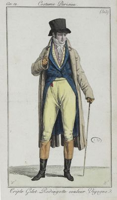 c.1803 costume parisien. 513