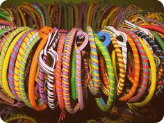 Do you remember making jewelry with telephone wire?