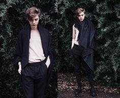 Mikko Puttonen - Acne Studios Scarf, Cos Sweater, All Saints Trousers, All Saints Shoes - Cold skin